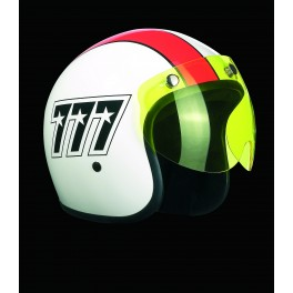 Jet visor SHORTY yellow