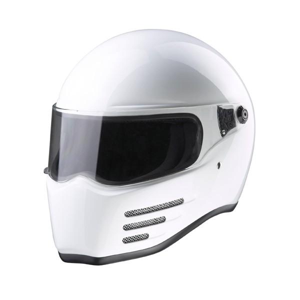 Casco BANDIT Alien II Blanco con Homologacion ECE 22-05