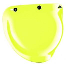 Jet visor BUBBLE yellow
